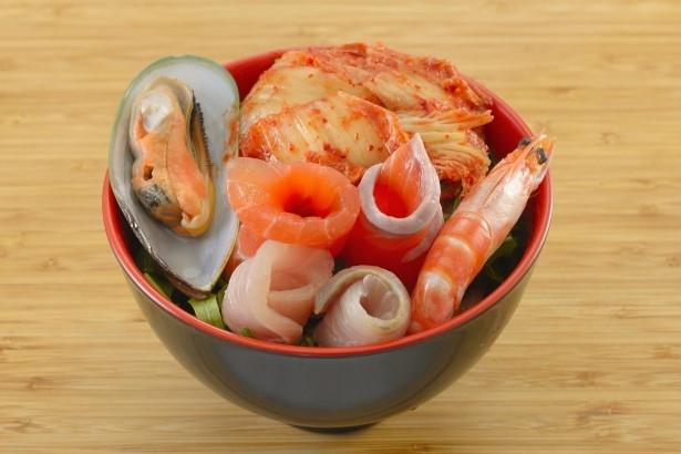 Kimchi Fisherman Soup