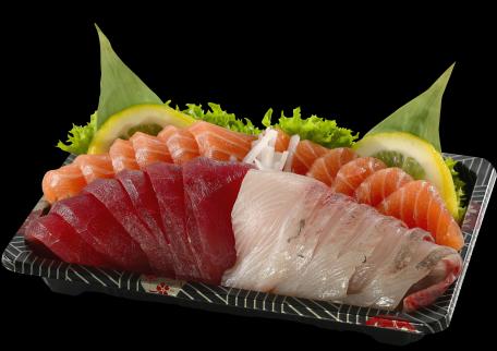 23. Salmon Sashimi Box $18